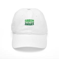 Green is the New Smart! Baseball Cap