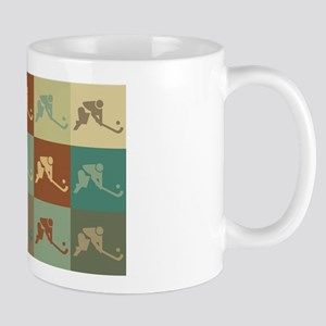 Field Hockey Pop Art Mug