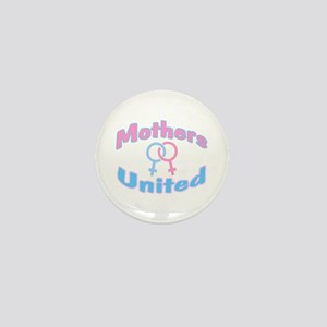 Mothers United Mini Button