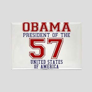 "Obama ""57 States"" Rectangle Magnet"