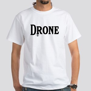 Drone White T-Shirt