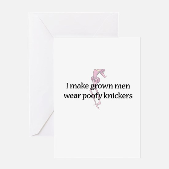 Poofy Knickers Greeting Card