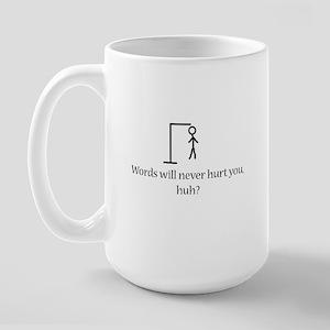 Hang Man Large Mug