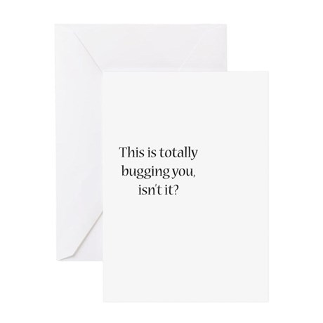 Off Center Greeting Card