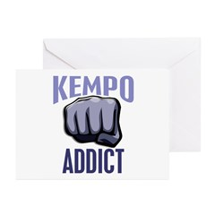 Kempo Addict Greeting Cards (Pk of 20)