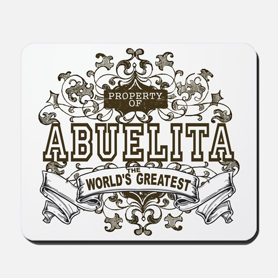 Property Of Abuelita Mousepad