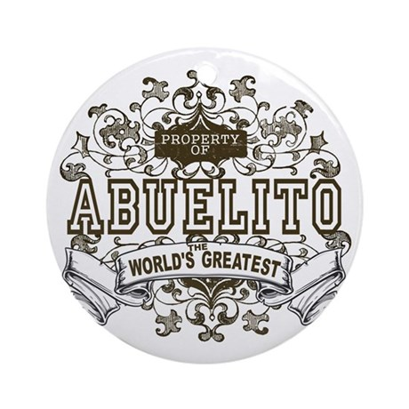 Property Of Abuelito Ornament (Round)