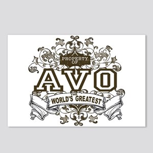 Property Of Avo Postcards (Package of 8)