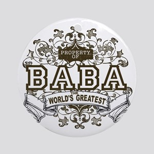 Property Of Baba Ornament (Round)