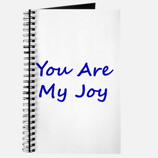 You Are My Joy blue script Journal