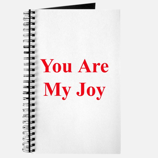 You Are My Joy red Journal