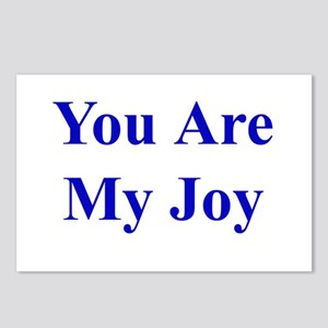 You Are My Joy blue Postcards (Package of 8)