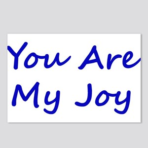 You Are My Joy blue script Postcards (Package of 8