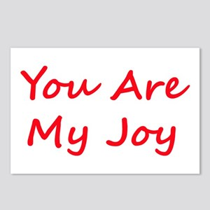 You Are My Joy red script Postcards (Package of 8)