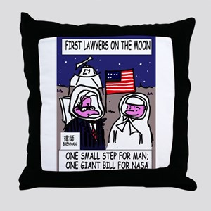 Lawyer's Throw Pillow