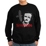 Poe The Raven Nevermore Sweatshirt (dark)
