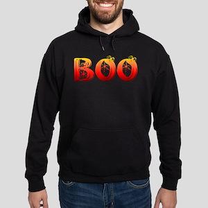 Boo Halloween T-Shirt Hoodie (dark)