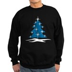 Blue Christmas Tree Sweatshirt (dark)