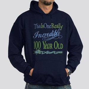 Incredible 100th Hoodie (dark)