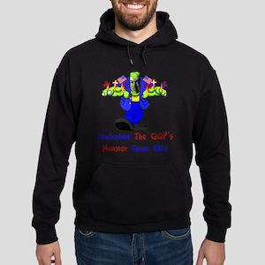 Huckabee GOP Monster Hoodie (dark)