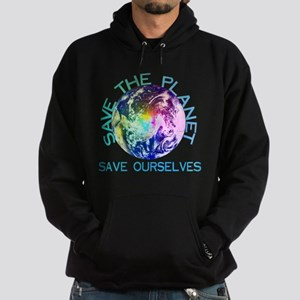 Save The Planet Hoodie (dark)