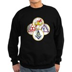 Circles of the York Rite Sweatshirt (dark)