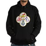 Circles of the York Rite Hoodie (dark)