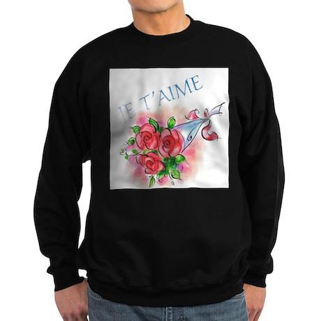 Je T'aime Sweatshirt (dark)
