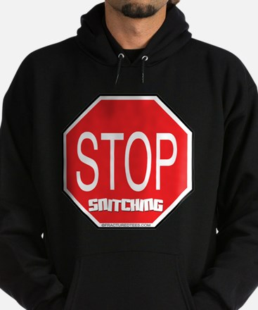 Stop The Snitching Hoodie (dark)