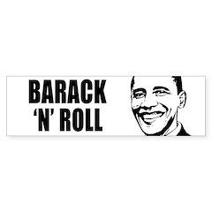 Barack 'n' Roll Bumper Bumper Bumper Sticker