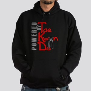Powered by Tae Kwon Do Hoodie (dark)