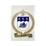 SAVOIS Family Crest Rectangle Magnet