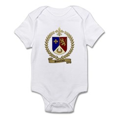 SIMONEAUX Family Crest Infant Creeper