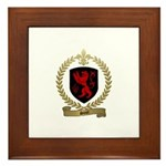 SICOT Family Crest Framed Tile