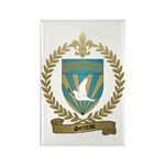 SERREAU Family Crest Rectangle Magnet