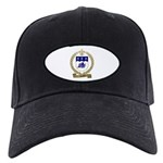 SAVOIE Family Crest Black Cap