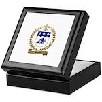 SAVOIE Family Crest Keepsake Box