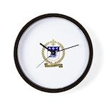 SAVOIE Family Crest Wall Clock