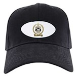 SAVARY Family Crest Black Cap