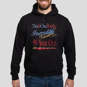 Incredible At 99 Hoodie (dark)