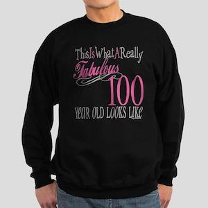 100th Birthday Gift Sweatshirt Dark