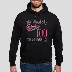 100th Birthday Gift Hoodie (dark)