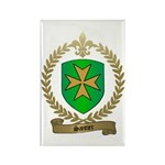 SANTIER Family Crest Rectangle Magnet (10 pack)