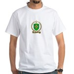SANTIER Family Crest White T-Shirt