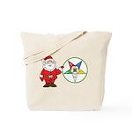 Santa and the OES Tote Bag