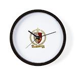 SAMSON Family Crest Wall Clock