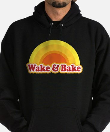 Wake and Bake Hoodie (dark)