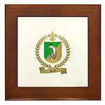 SALLE Family Crest Framed Tile