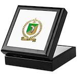 SALLE Family Crest Keepsake Box