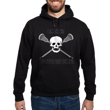 Lacrosse Never Saw Hoodie (dark)